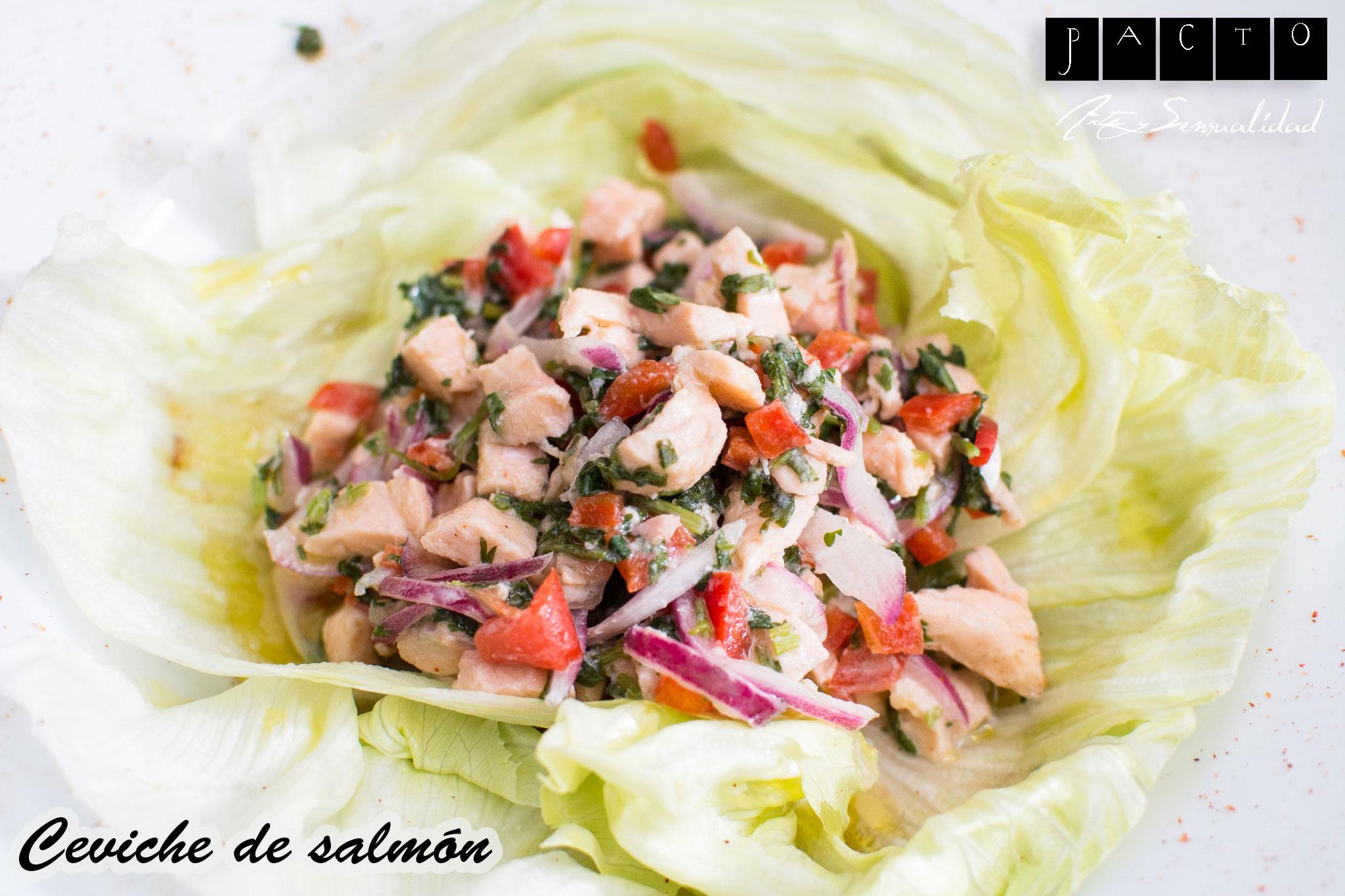 Ceviche-de-salmon